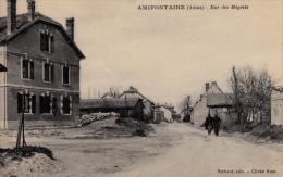 AMIFONTAINE -- Avant La Guerre  -- Rue Des Mégrets - Other Municipalities