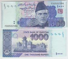 Pakistan 1000 Rupies 2012 Pick 50 UNC - Pakistan