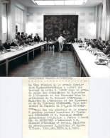 Politique - Ouverture Des Travaux De La Grande Commission Franco-soviétique, Photo De Presse AFP 8.9.1970 - Photos
