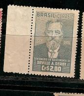 Brazil ** & Cent. Nasc. De Orville Derby, Geologia E Botanico  1851-1951 (497) - Berufe