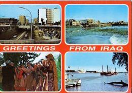 AK IRAK IRAQ  LTE POSTKARTEN - Irak