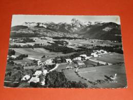 CPSM Dentelée, Carte Postale, Haute-Savoie 74, Bernex Et Ses Montagnes, Mémises Col De Neuvaz, Péluaz - Andere Gemeenten