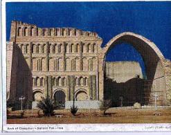 AK IRAK IRAQ  BAGHDAD  ARCH OF CTESIPHON  -SALMAN PARK ALTE POSTKARTEN - Irak