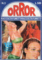 ORROR   N°3  RACCOLTA 12 FUMETTI COMPLETI - Libri, Riviste, Fumetti