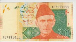 Pakistan 20 Rupies 2009 Pick 55 UNC - Pakistán