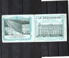 FRANCE     Calendrier 1916     Publicit�      LA SEQUANAISE