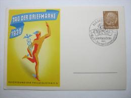 1941,  KDF  , Propagandastempel,  Seltener Stempel Auf Karte - War 1939-45