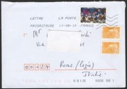FRANCIA 2010 - ENVELOPPE ENVOYÉE - CONTRE LE VIOLENCES FAITES AUX FEMMES - Frankrijk