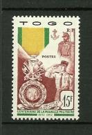 TOGO   1952    N° 255     Centenaire De La Médaille Militaire       NEUF - Togo (1914-1960)