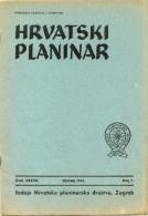 Hrvatski Planinar------old magazine