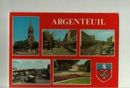 Argenteuil Multi Vues (eglise Rue PV Couturier - Rue Du Coudray Place Gare - Mairie) - Argenteuil
