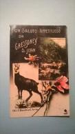 Un Saluto Affettuoso Da Gressoney S. Jean - Italia