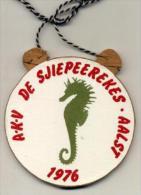 Aalst - AKV De Sjiepeerekes - Aalst 1976 - Houten Plaquette - Carnaval