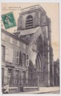 (RECTO / VERSO) SAINT DIZIER EN 1914 - N° 1494 - L' EGLISE NOTRE DAME AVEC PERSONNAGES - BEAU CACHET - Saint Dizier