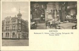 AK Dortmund Restaurant C. Vollmer, Früher Froning, Ewingerstr. 186 - 1932 > Altena Gel., Allerbeste Erhaltung - Dortmund