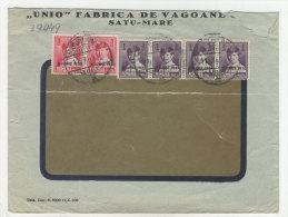 Rum�nien Michel No. 364 , 366 gestempelt used auf Brief