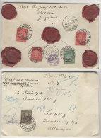 Brief Prizren nach Leipzig Wertbrief