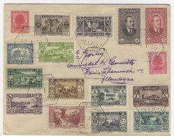 Libanon Brief  luftpost