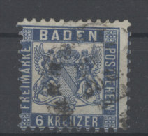 Baden Michel No. 19 gestempelt used
