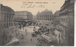Paris      Place De L'Opéra - Places, Squares