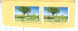 BRD 2x Mi. 2923 Fr�hjahrsferien Baum MWST BZ 10 WWF Sch�tzt die Natur Briefst�ck
