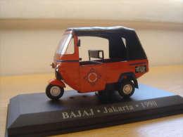 BAJAJ Moto Taxi 1:43 Jacarte Djakarta 1990 Indonesie Indonesia Altaya - Motos