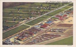 CLEVELAND, Ohio, 1930-1940's; Municipal Airport