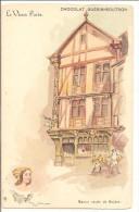 CHOCOLAT GUERIN BOUTRON  Illustrateur ROBIDA - Publicité