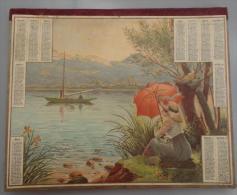 (Calendriers) 005, calendrier Almanach des Postes et de la T�l�graphie ann�e 1914, Il est complet avec un cahier de 6 fe
