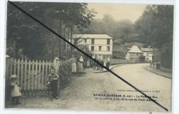 CPA - Déville Les Rouen - Le Pont De Bec (sur La Riviére Cailly) Et La Rue Du Petit Aulnay - Francia
