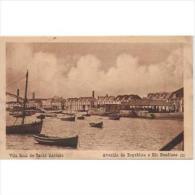 PTGLTP1223C-LFTD1050TTSC.TARJETA POSTAL DE PORTUGAL.Barca Y Puerto De VILA REALA DE STO ANTONIO. - Postales