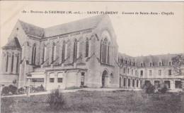 Cp , 49 , SAINT-FLORENT , Environs De Saumur , Couvent De Sainte-Anne , Chapelle - Autres Communes