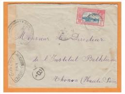 GUADELOUPE ## LETTRE DE BASSE-TERRE 1941 ## CENSURE MILITAIRE ## TRANSIT PTE A PITRE - Guadeloupe (1884-1947)