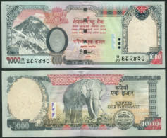 NEPAL, 1000 Rupees, P. 68, Sign. 16 ! - Nepal