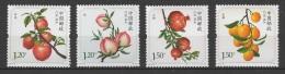 China (2014) - Set  #15  /  Fruits - Frutas - Fruites - UNUSUAL Smell - Olor