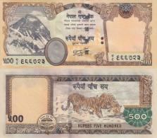 NEPAL, 500 Rupees, P. 66, Sign. 19 ! - Nepal