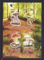 CBN53ND - Champignons Mushrooms - Bloc feuillet Neuf ** MNH  Non dentel� - C ongo 2012