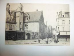 2uxn - CPA  N°89 - VENDOME - L'hôtel Du Commandeur Et La Rue De La Saulnerie - [41]  - Loir Et Cher - Vendome
