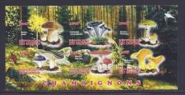 CBN54ND - Champignons Mushrooms - Bloc feuillet Neuf ** MNH Non dentel� - C ongo 2012