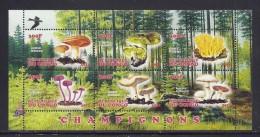 CBN30 - Champignons Mushrooms - Bloc feuillet Neuf ** MNH  - C ongo 2012