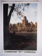 Asie - Cambodge - Siem Reap ( Bayon (2 Scann) - Kambodscha
