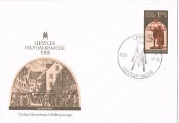 10395. Carta Entero Postal LEIPZIG (Alemania DDR) 1988. Leipziger Messe - [6] República Democrática