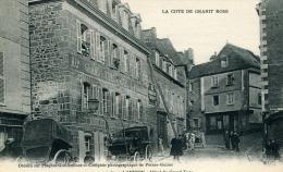 LANNION - HOTEL DU GRAND TURC (Très Belle Animation) Obtenu Sur Plaques Guilleeminot - Lannion