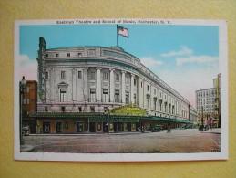 Le Théâtre Eastman Et L'Ecole De Musique. - Rochester