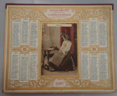 Lot 031, Top Calendrier des PTT ann�e 1916 (d�partement de l'Indre et Loire), complet en bon �tat, tout scanner, carte d