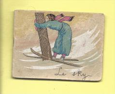 AGENDA DE POCHE 1935  Le SKY Style Petit Prince Chromo La Lyonnaise CONFISEUR GLACIER 6 Avenue F�lix Faure  NICE