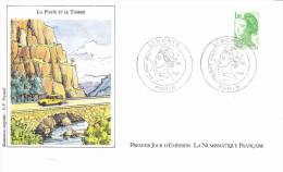 PARIS (75) La Poste Et Le Timbre, Renault 4L Fourgonnette, Dessin G.P. Teytaud, FDC, 01/08/1985 - FDC