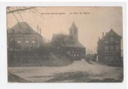 Berchem Sainte Agathe - La Place De L'eglise - Edit S-D 129, R. Rogier , Brux. - St-Agatha-Berchem - Berchem-Ste-Agathe