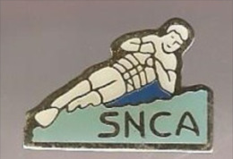 37391-Pin's.ski Nautique.SNCA (Ski Nautique Club De L'Aube). - Water-skiing