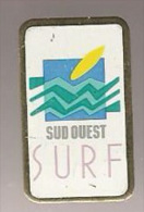 37395-Pin's.Surf.Sud Ouest. - Water-skiing
